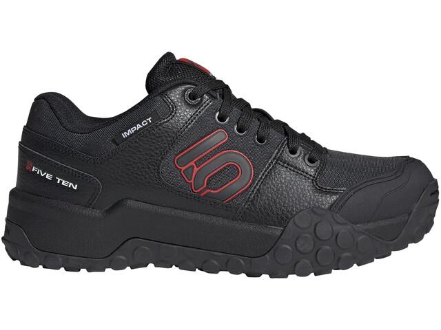 Five Ten Impact Low Shoes Men core black/carbon/red
